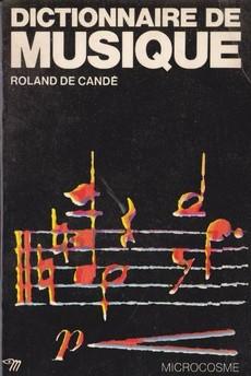 Couverture de Dictionnaire de musique