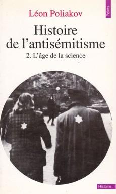 Histoire de l'antisémitisme - couverture livre occasion
